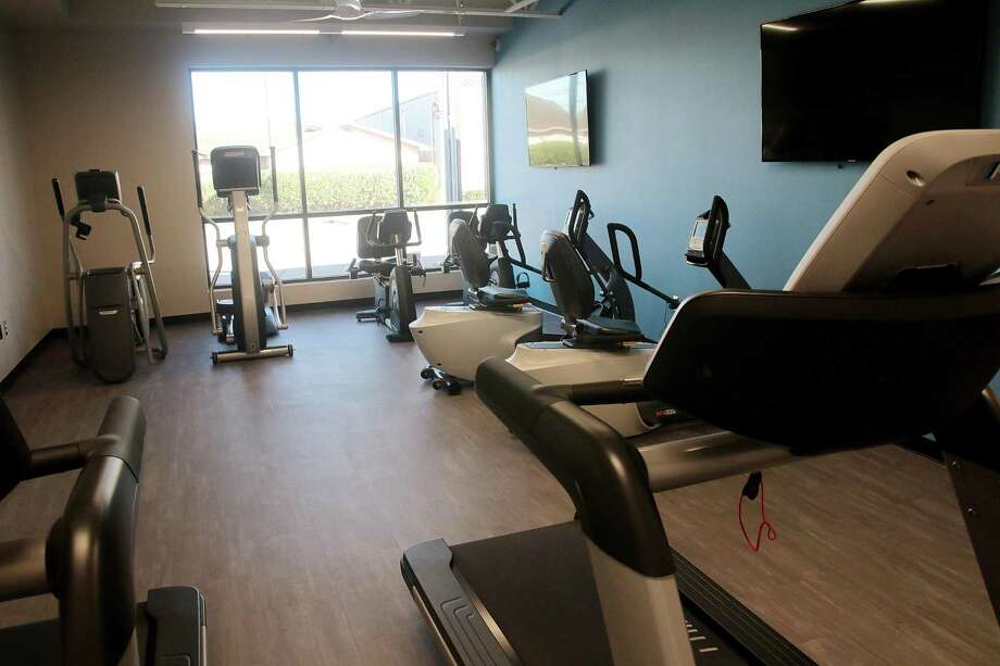New exercise machines line a room in the renovated E.M Maxwell Adult Center in Deer Park. Photo: Pin Lim, Freelance / Contributer / Copyright Forest Photography, 2018.