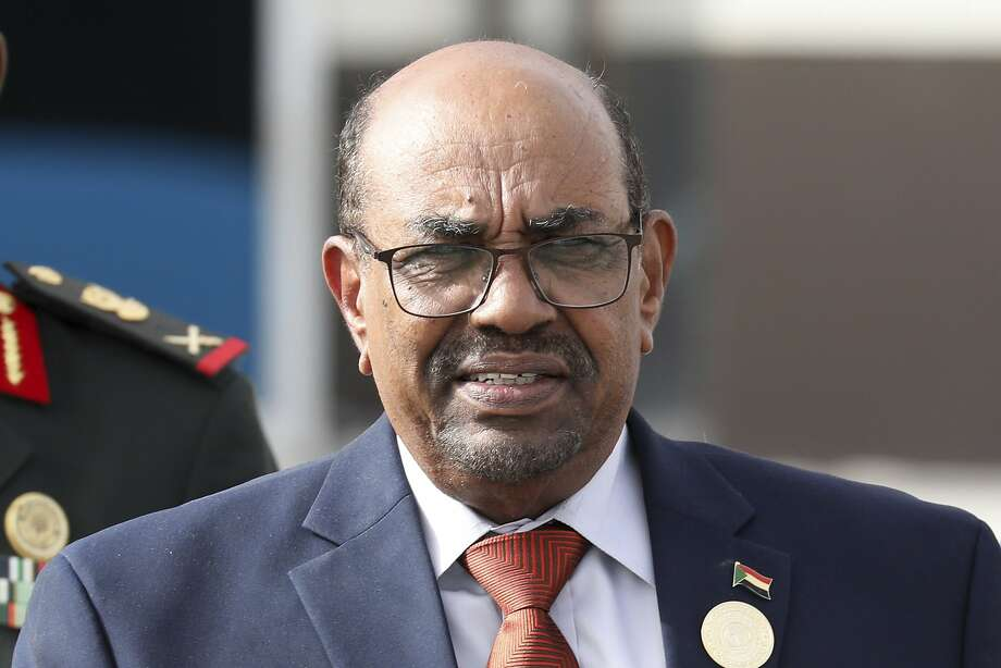 Omar el-Bashir seized power in a 1989 military coup. Sudan has seen two weeks of violent protests. Photo: Ludovic Marin / Associated Press 2018