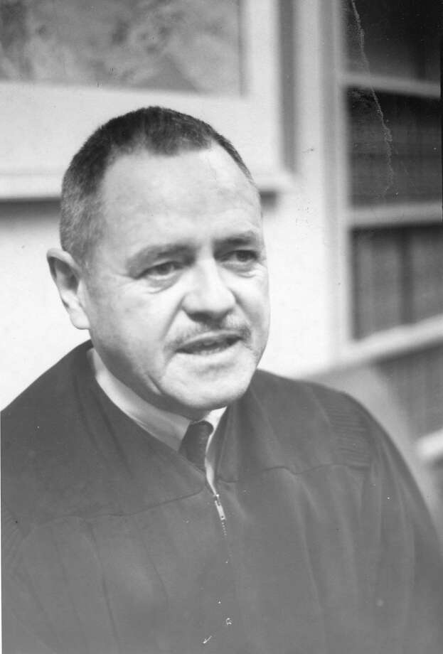 Superior Judge Francis McCarty decried harsh prison sentences. Photo: Bob Campbell / The Chronicle 1956