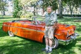 John Higgins drives a 1953 Mercury