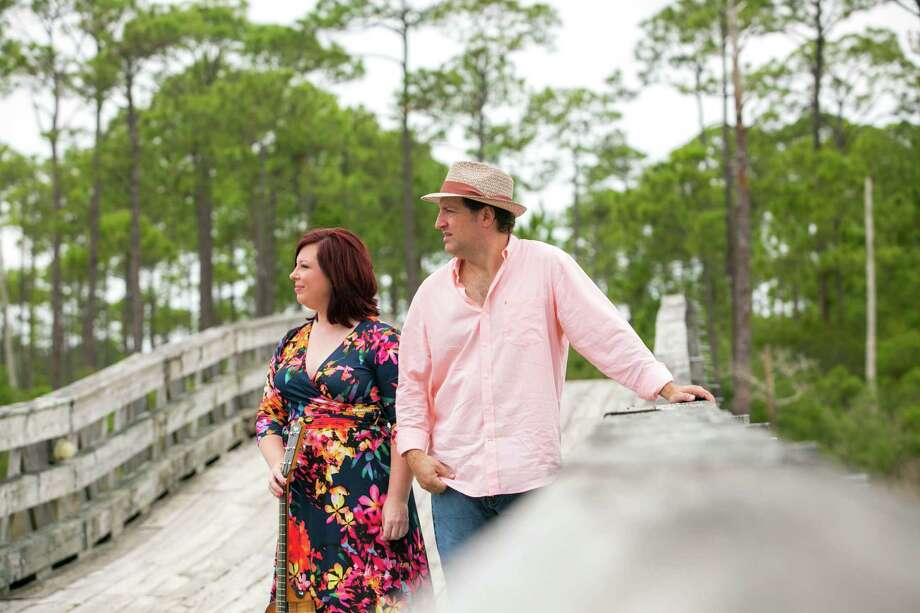 The duo Cumberland County including Kristin Courville and Eric DiSanto performs at The Red Brick Tavern in downtown Conroe on Saturday at 9:30 p.m. Photo: Photo By Jenn Ocken / Jenn Ocken Photography / Jenn Ocken Photography