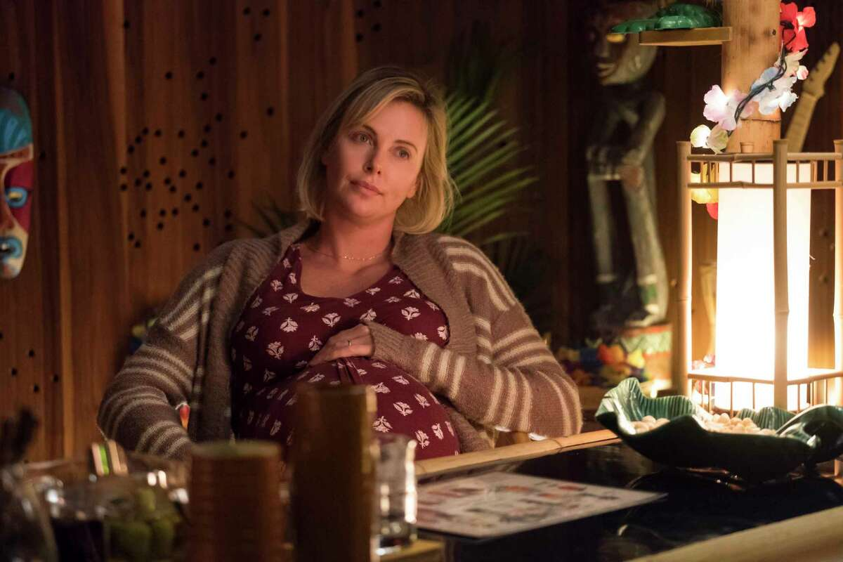 """Charlize Theron in """"Tully."""""""
