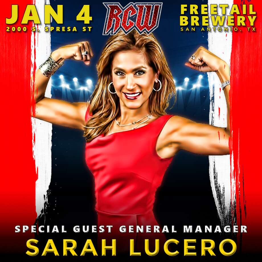 Sarah Lucero will be special guest general manager for River City Wrestling's next show on Jan. 4, 2018. Photo: Contributed Photo