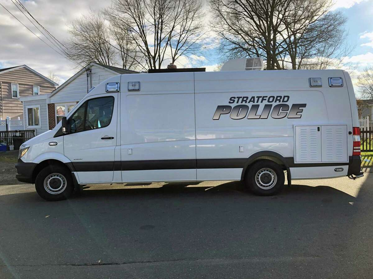 Stratford, Conn., police units were on Fisher Court investigating Jan. 3, 2019, more than 12 hours after a shooting sent one man to the hospital for several gunshot wounds.