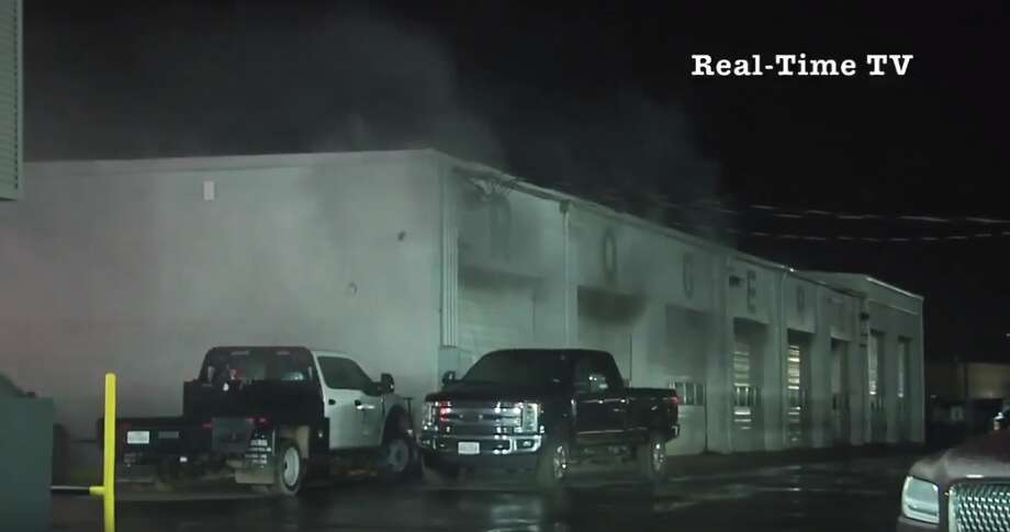 The Rogers Ford Lincoln fast lube department is temporarily closed, and the service department currently is operating on a limited basis after a fire at the dealership on Dec. 29, according to a press release from owners Doss and Todd Rogers. Photo: Real Time-TV