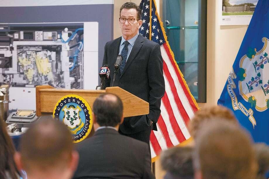 Connecticut Gov. Dannel P. Malloy in February 2018. Photo: Bryan Haeffele / The Wilton Bulletin / Bryan Haeffele