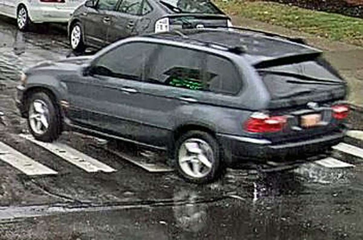 Bridgeport, Conn., police provided this image of the suspect's vehicle after an assault in Dec. 2018.