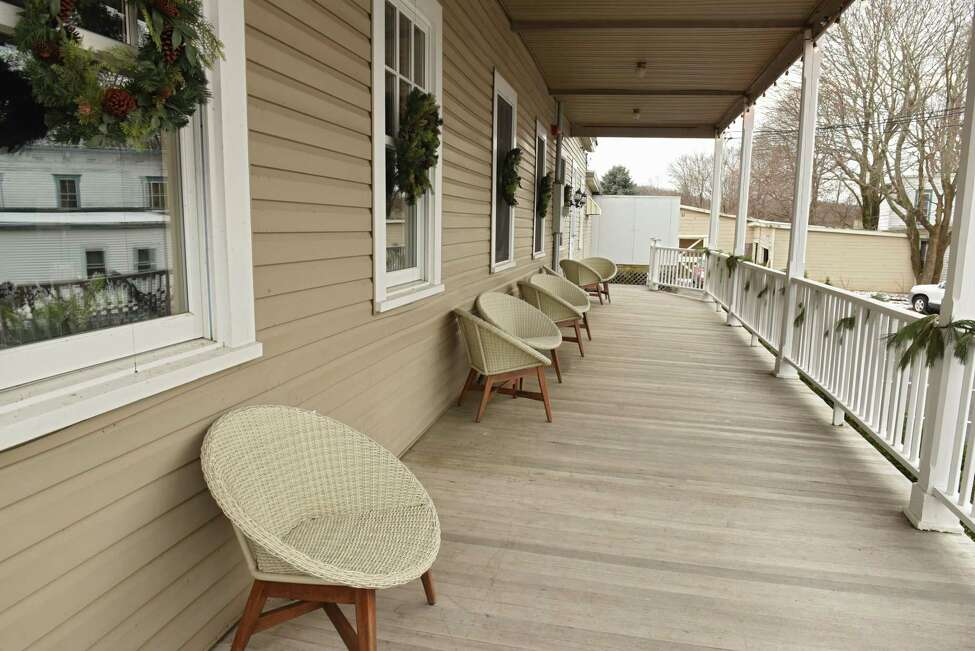 Porch of Vanderbilt Lakeside on Thursday, Dec. 20, 2018 in Philmont, N.Y. (Lori Van Buren/Times Union)