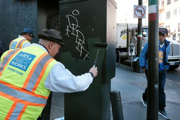 battle against taggers makes its mark as san francisco s graffiti