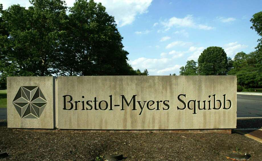 FILE - In this June 15, 2005, file photo, a sign stands in front of a Bristol-Myers Squibb building in a Lawrence Township, N.J. Bristol-Myers Squibb is buying Celgene in a cash-and-stock deal valued at about $74 billion. (AP Photo/Mel Evans, File) Photo: MEL EVANS / AP2005