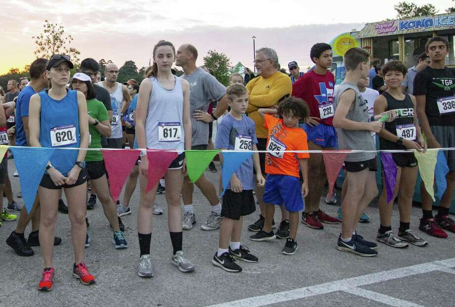 The Woodlands Township announced the opening of registration for its Signature Races series on Tuesday, including that of Muddy Trails Bash, the Memorial Hermann 10 For Texas and the Woodforest Bank TRI triathlon. Photo: Cody Bahn, Houston Chronicle / Staff Photographer / © 2018 Houston Chronicle