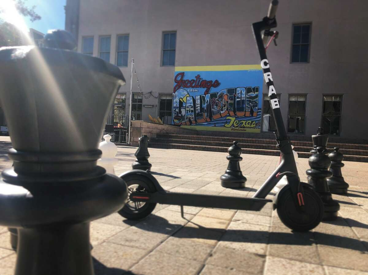 Ryan O'Neal of Galveston said he expects to officially launch his new business Crab Scooters come late January or early February. O'Neal said the scooters will provide visitors and residents with a low-cost, environmentally friendly form of transportation that hasn't been offered to the island before.