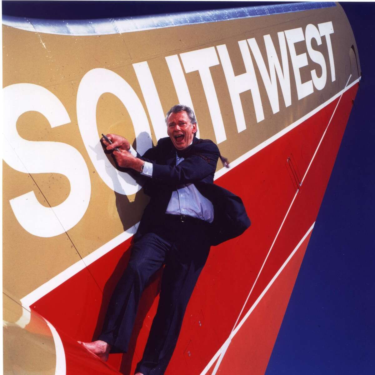 Some of Southwest CEO Herb Kelleher's well-known antics