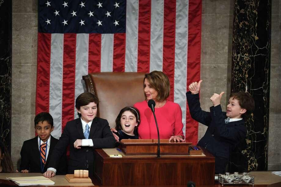 Pelosi regains House speaker's gavel - New Haven Register