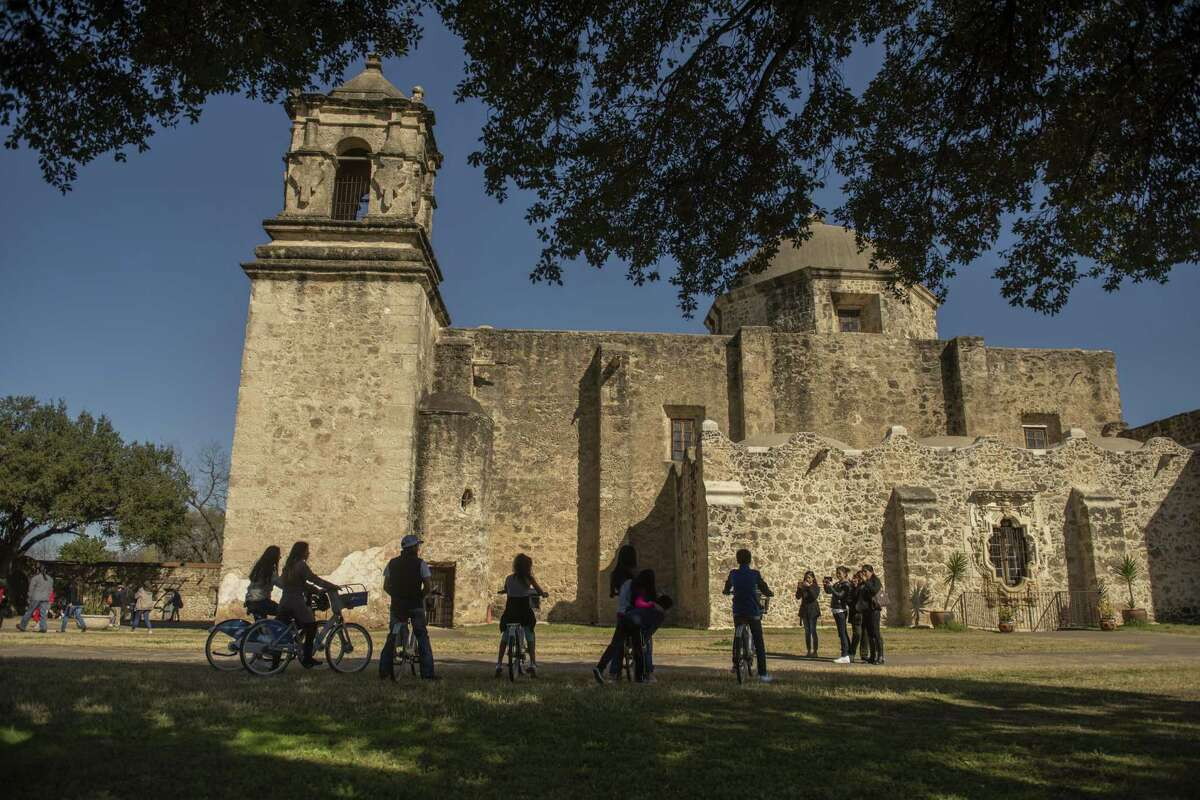 Despite a partial federal government shut down currently underway area families and tourists still flocked to Mission San Jose on Sunday, December 23, 2018.