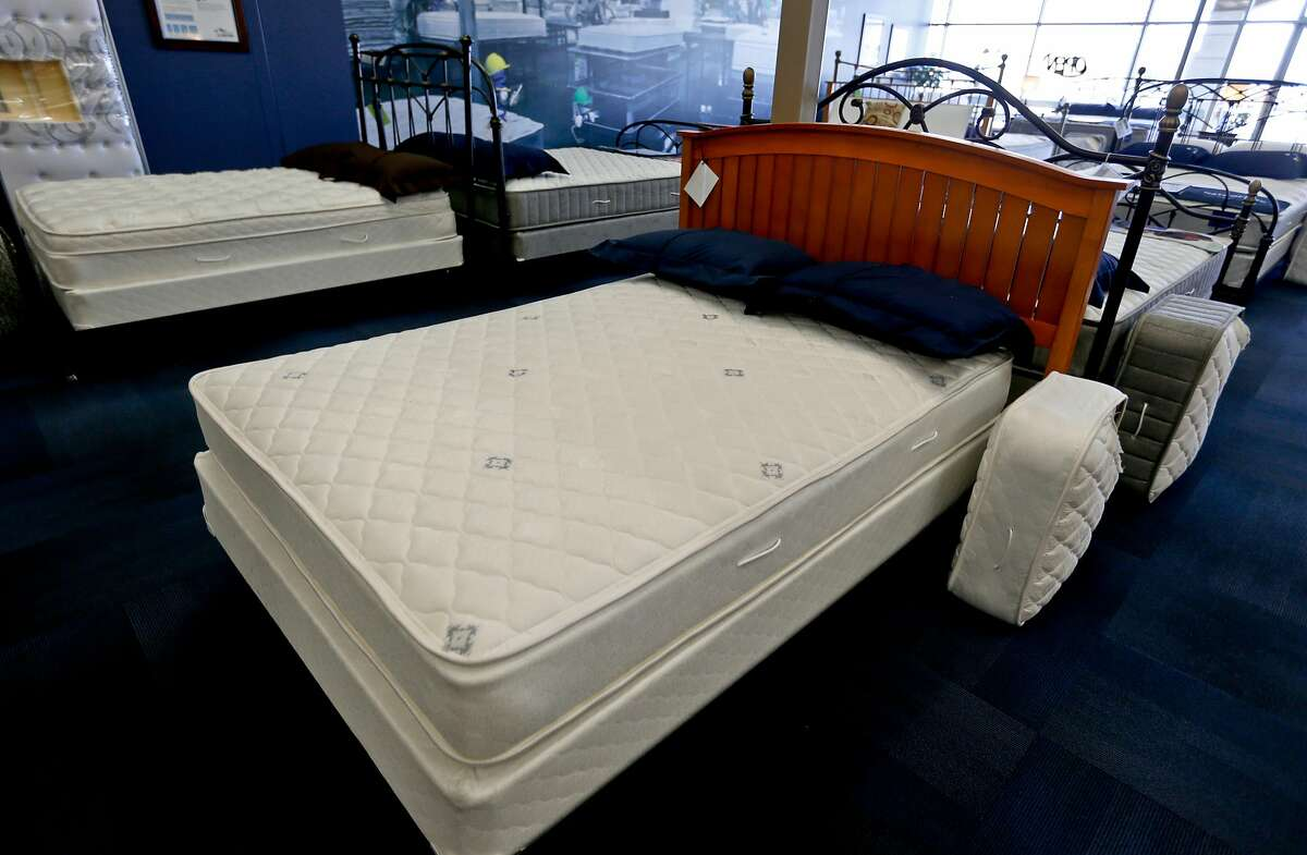 FEBRUARY Mattresses: Consider switching out your old mattress since big-box stores have mattress sales throughout Presidents Day weekend. Macy's and JCPenney typically offer 65-75 percent off name-brand mattresses.