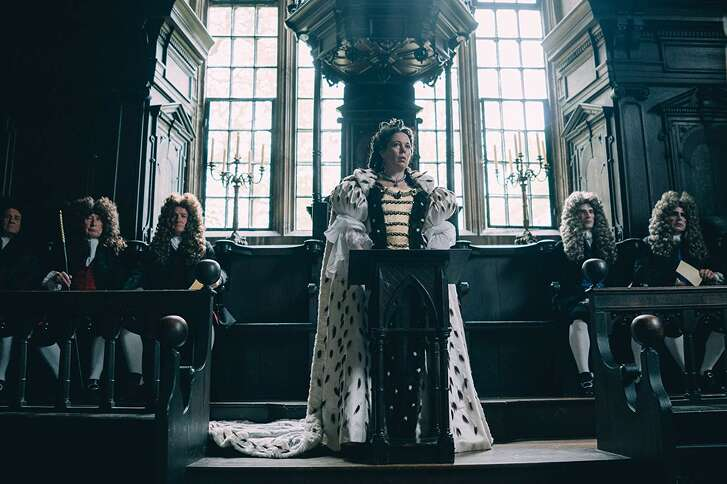 Olivia Colman in 'The Favourite'