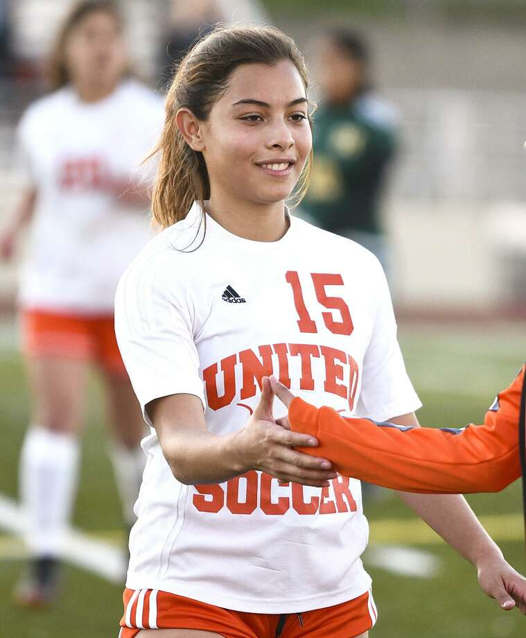United's Mildred Mejia was named the District 29-6A MVP after helping the Lady Longhorns win a second straight title. Photo: Danny Zaragoza /Laredo Morning Times File / Laredo Morning Times
