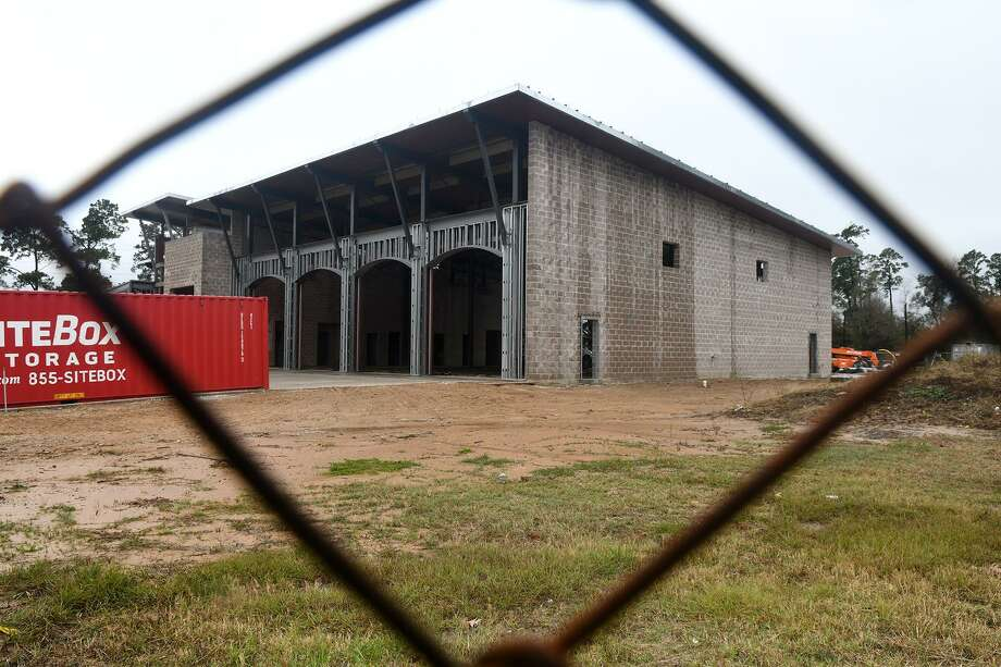 The Spring Fire Department Station 74 is currently under construction at 24030 Old Aldine Westfield in Spring and is scheduled to open in the summer. Photo: Jerry Baker, Houston Chronicle / Contributor / Houston Chronicle