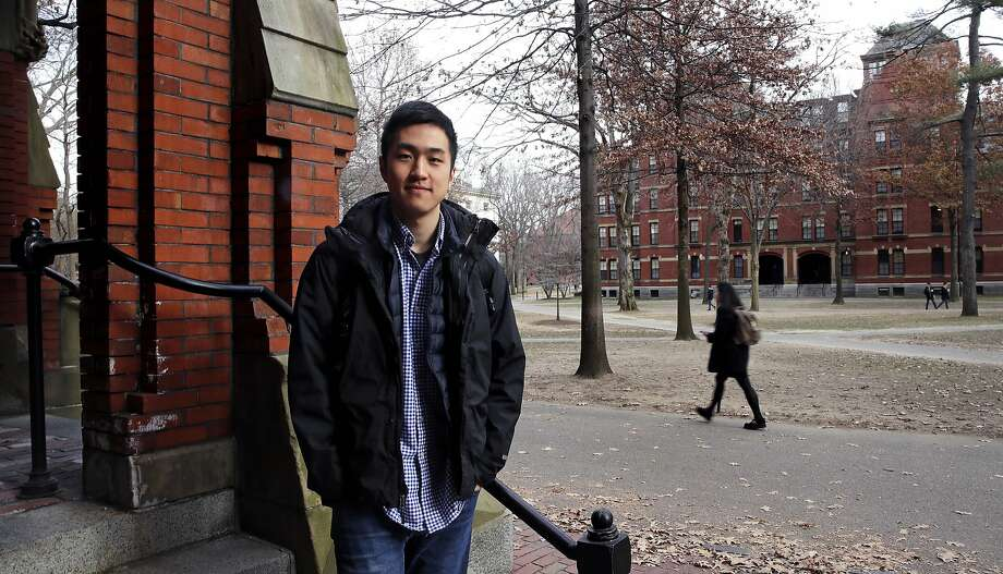 "Harvard University graduate Jin Park is the first ""Dreamer"" to be named a Rhodes Scholar. The undocumented student is not sure he'll be allowed back in the U.S. after his studies abroad. Photo: Charles Krupa / Associated Press"