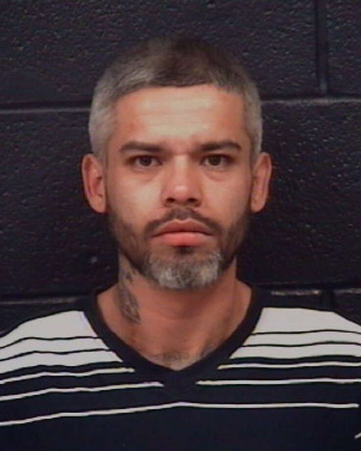 Police said Ricardo Campos, 34, is wanted for allegedly driving a vehicle without authorization. Photo: Webb County Sheriff's Office