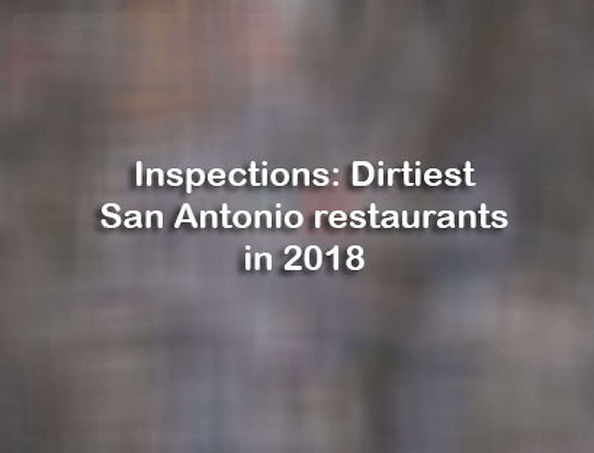 The following food spots had the worst reports in 2018 with a score of 75 or below. Restaurants are listed chronologically beginning in January.