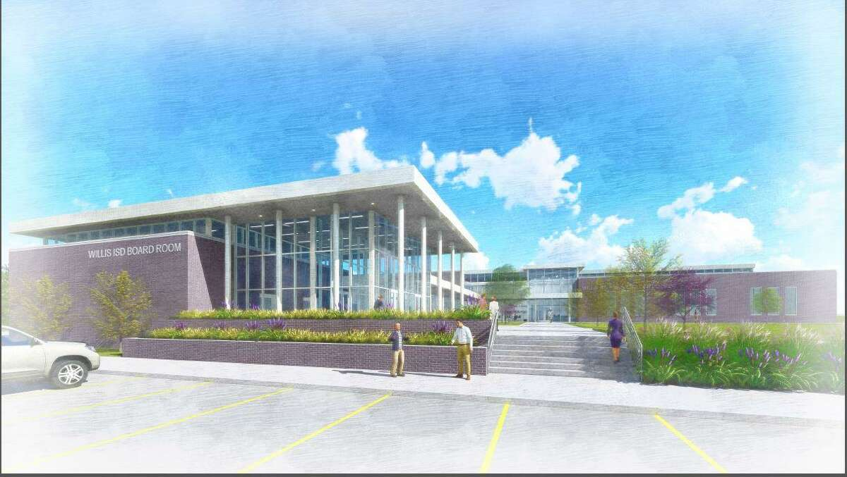 Willis ISD unanimously approved moving forward with the process to build a new administration building.