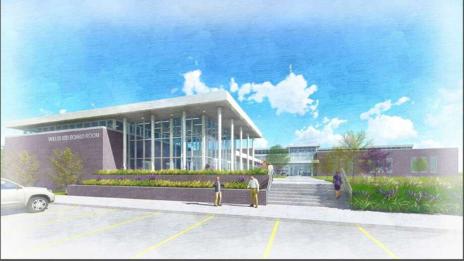 Willis ISD unanimously approved moving forward with the process to build a new administration building. Photo: Submitted Photo / Submitted Photo