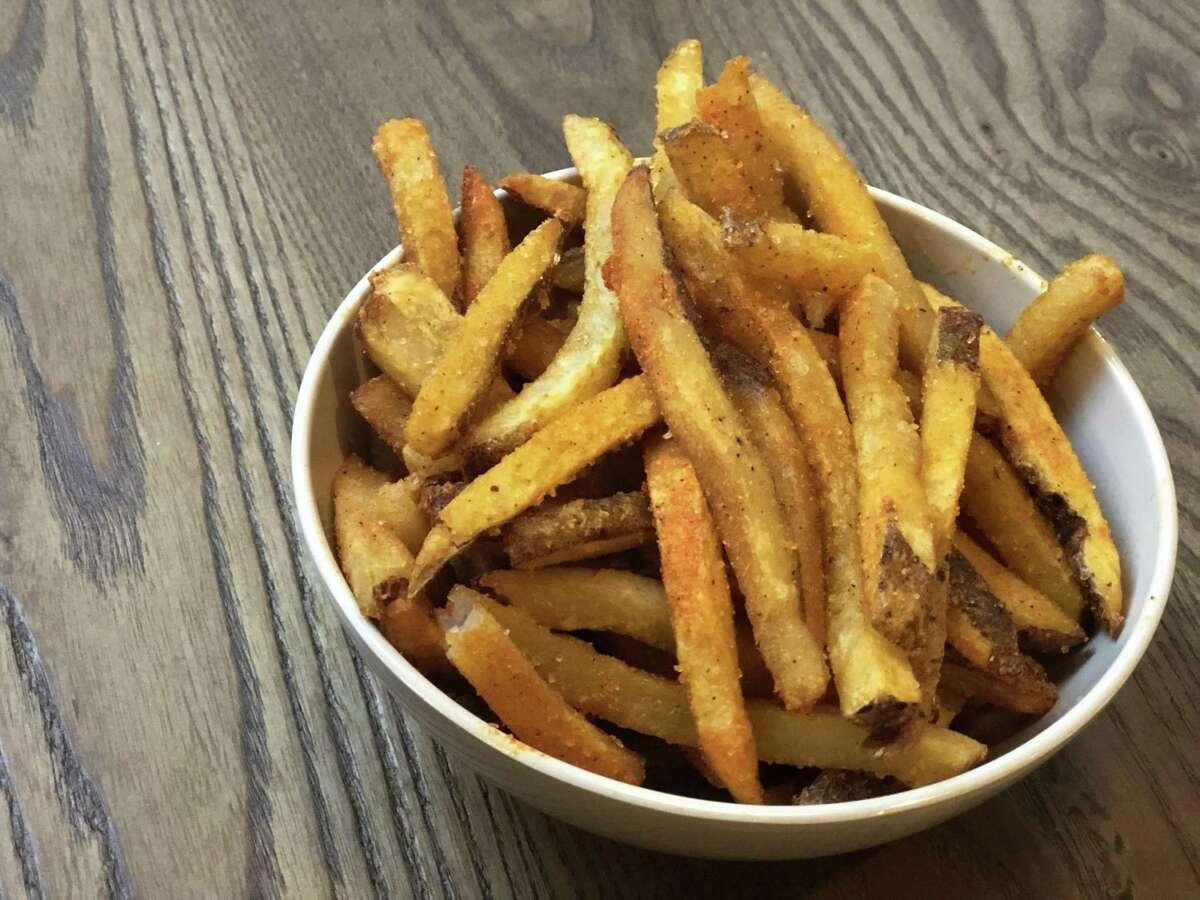 Fries at Craft Burger at Finn Hall