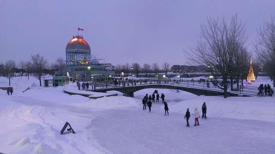 $310 roundtrip SFO-Montreal- a winter wonderland Photo: Pixabay