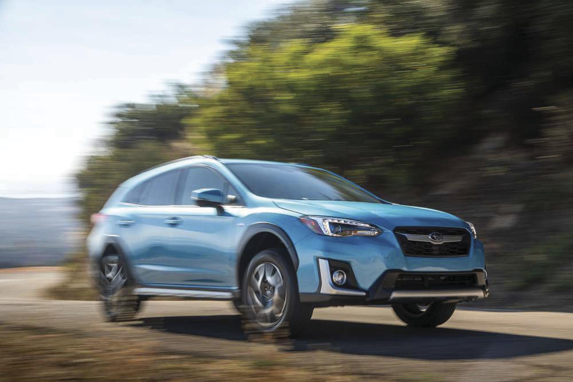 Crosstrek Hybrid: Subaru enters the 2019 plug-in market