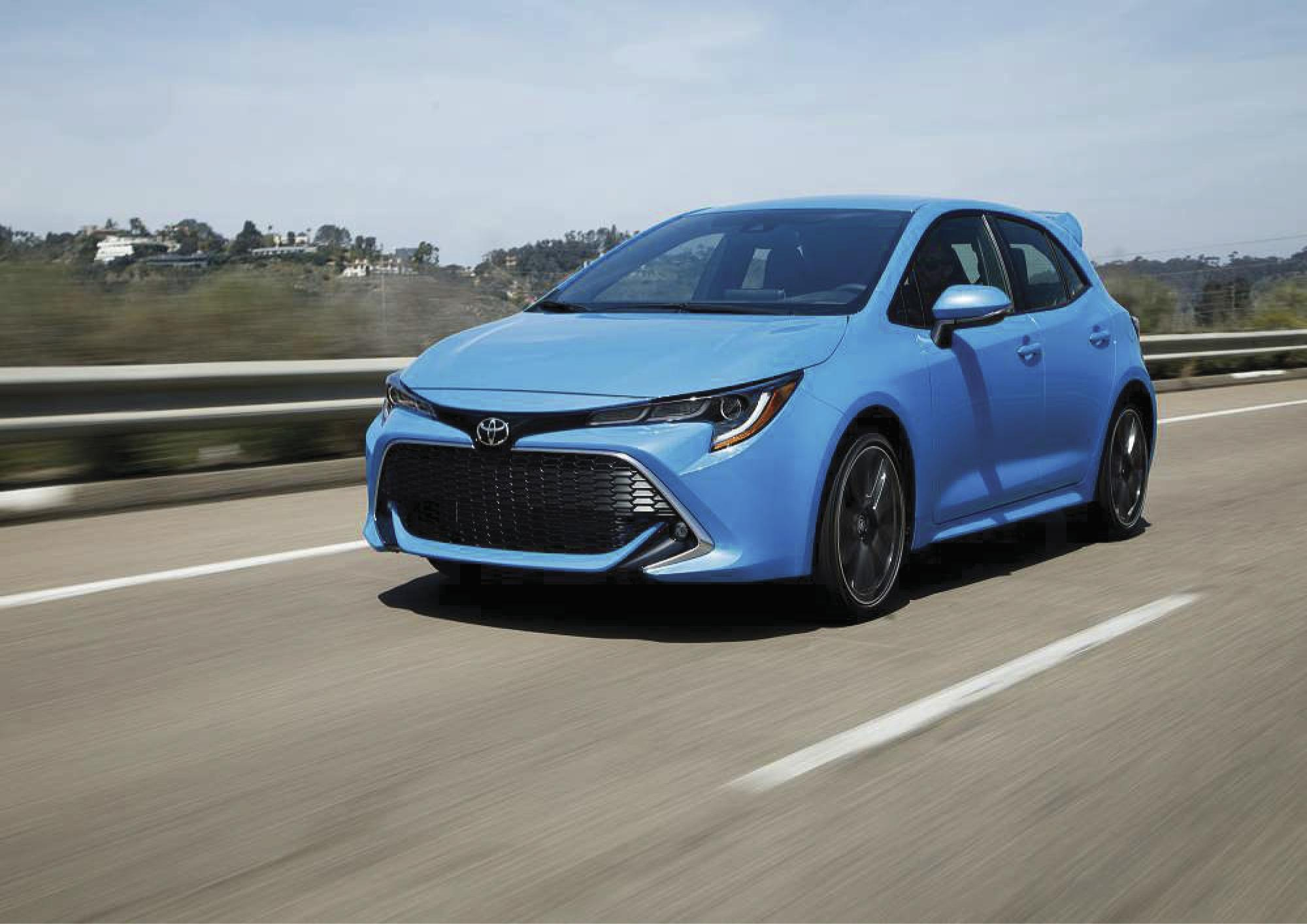 2019 Toyota Corolla Hatchback is an entertaining runabout