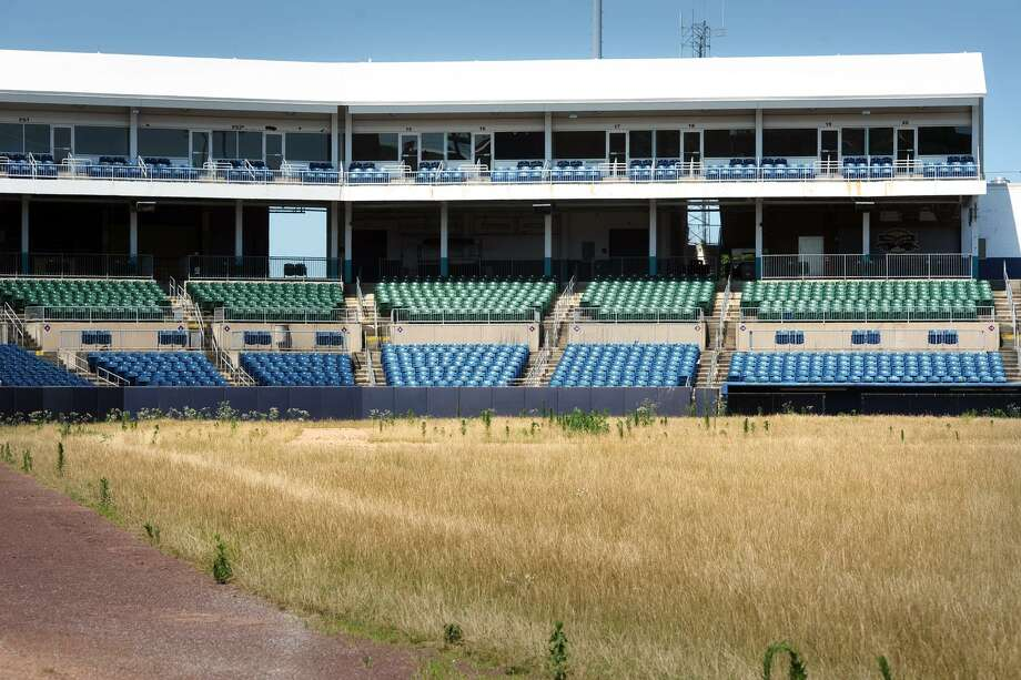 The baseball stadium for the defunct Bridgeport Bluefish will soon be turned into the new Harbor Yard Amphitheater. Photo: Ned Gerard / Hearst Connecticut Media / Connecticut Post