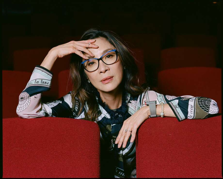 "Michelle Yeoh, who plays an imperious mother in ""Crazy Rich Asians,"" began her career as a martial arts star. Photo: Celeste Sloman / New York Times"