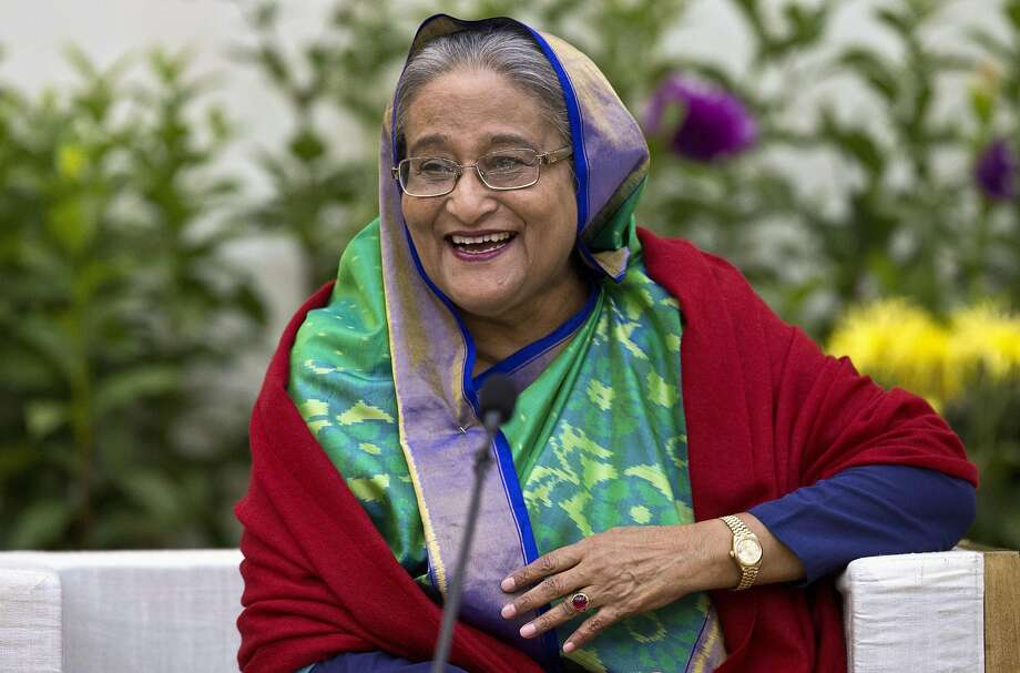 Sheikh Hasina Wajed is set to form her third consecutive government. Critics say she has jailed thousands of political opponents and fear she could become more authoritarian. Photo: Anupam Nath / Associated Press 2018