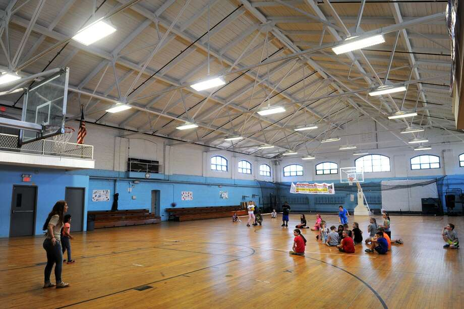 Interior of the National Guard Armory in Ansonia, June 1, 2017. Photo: Ned Gerard / Hearst Connecticut Media File / Connecticut Post