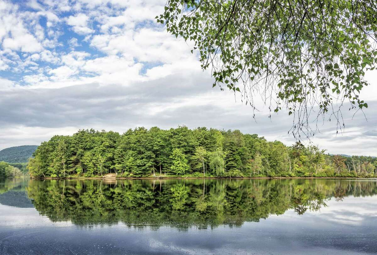 The Open Space Institute has purchased 890-acres of forest and wetland, which it will permanent protect and eventually transfer to its neighbor, Moreau Lake State Park. (Provided by Open Space Institute)