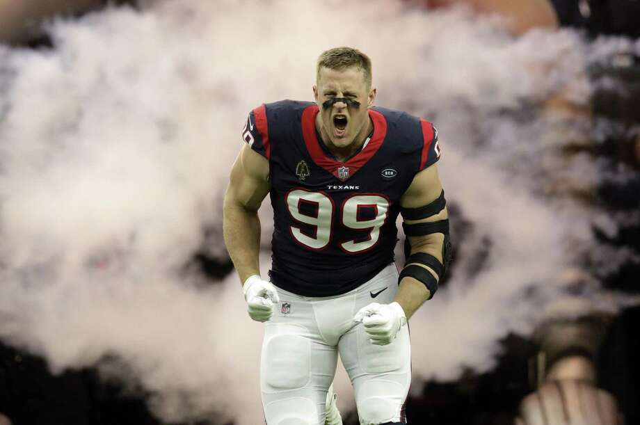 Houston Texans defensive end J.J. Watt (99) will be the first NFL player to serve as the grand marshal for the Daytona 500. Photo: David J. Phillip, STF / Associated Press / Copyright 2018 The Associated Press. All rights reserved