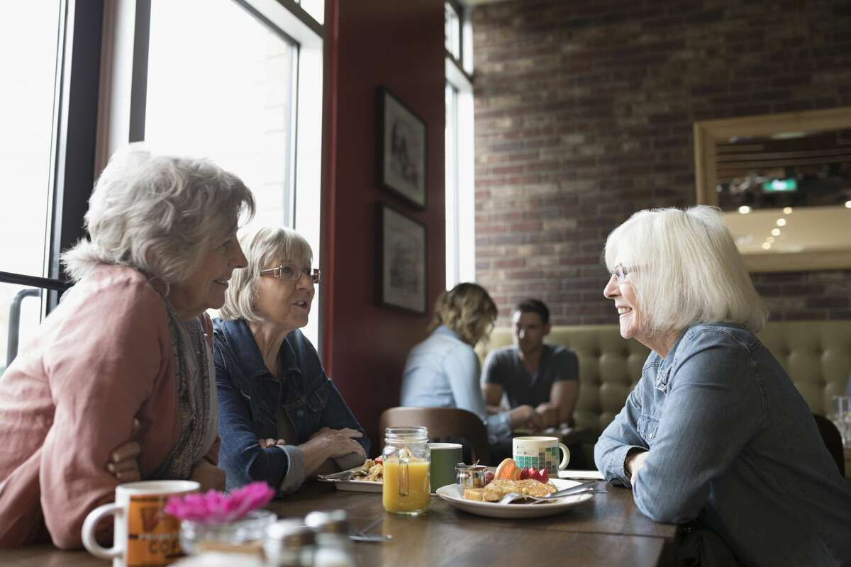 Many restaurant chains offer small perks to people 50 years of age and older.