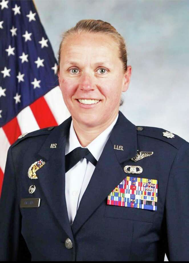 United States Air Force Lt. Colonel Angela Messing