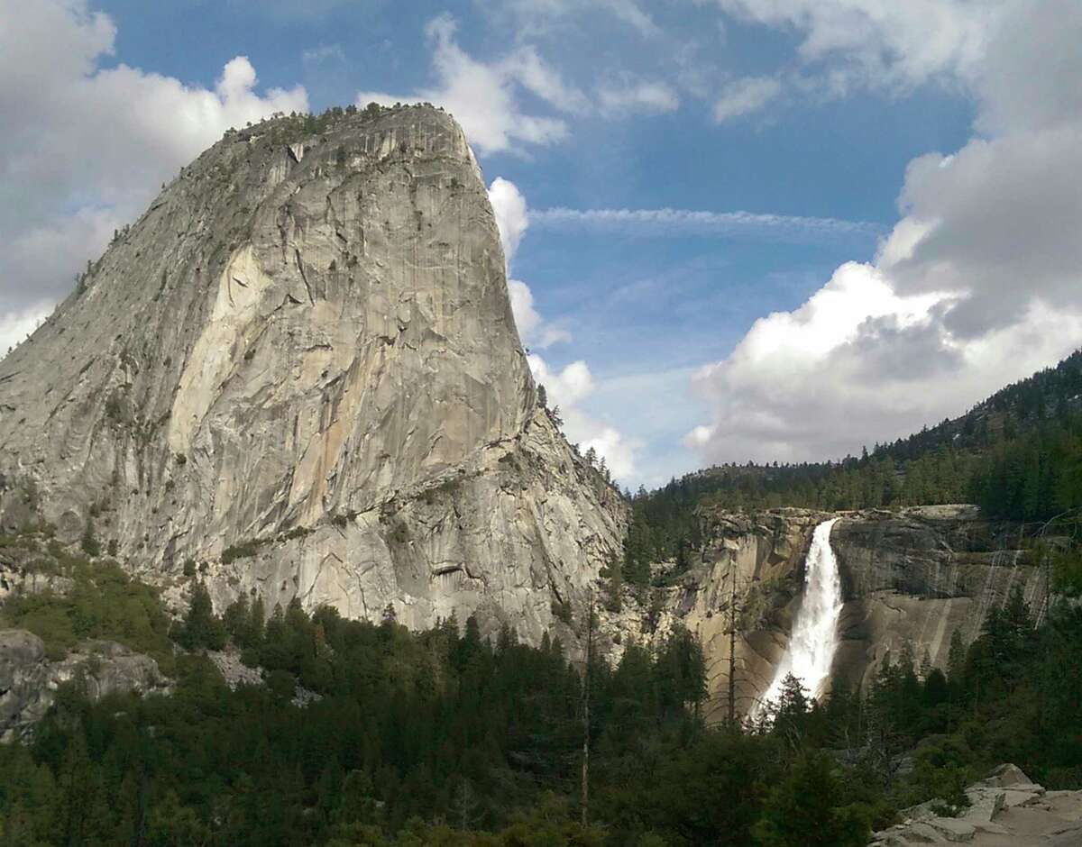 Nevada Fall in Yosemite National Park as seen on July 5, 2010. Tomer Frankfurter, an 18-year-old from Israel, died in a fall from the top of the fall while take a selfie photo.