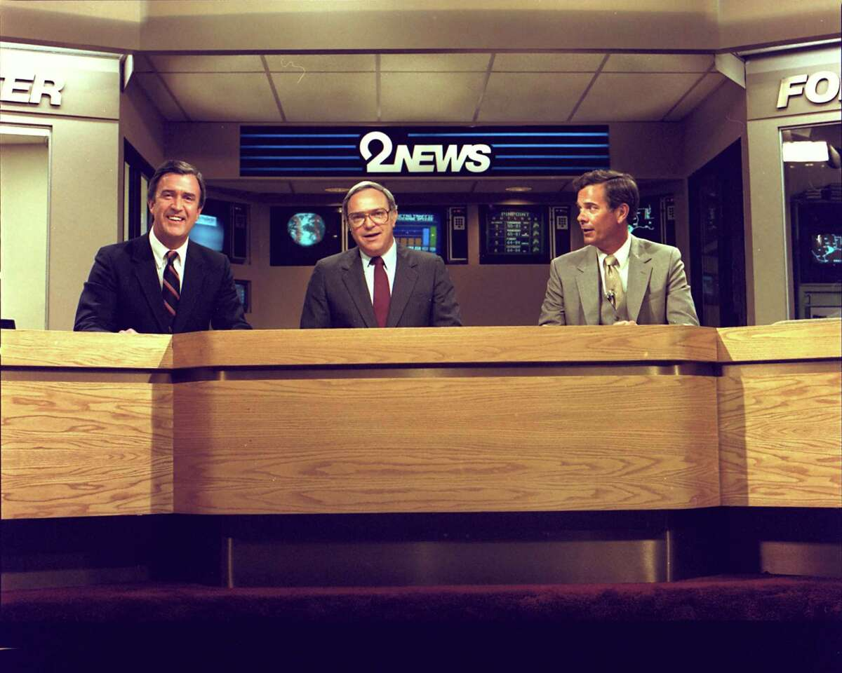 KPRC 2 News anchor team Ron Franklin, Ron Stone and Doug Johnson.