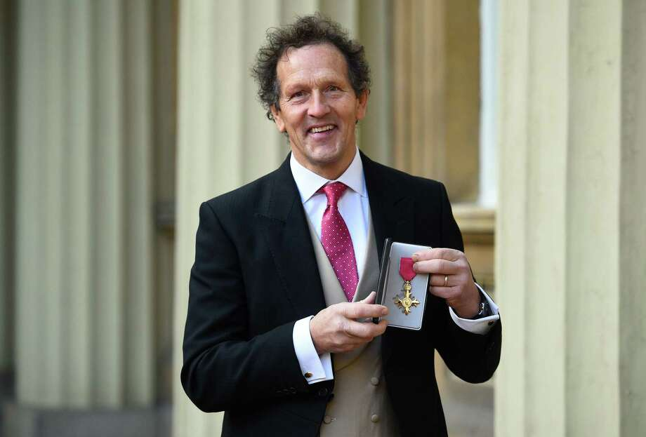 British broadcaster and horticulturalist Monty Don poses with his medal after being appointed an Officer of the Order of the British Empire. Photo: KIRSTY O'CONNOR, Contributor / AFP/Getty Images / AFP