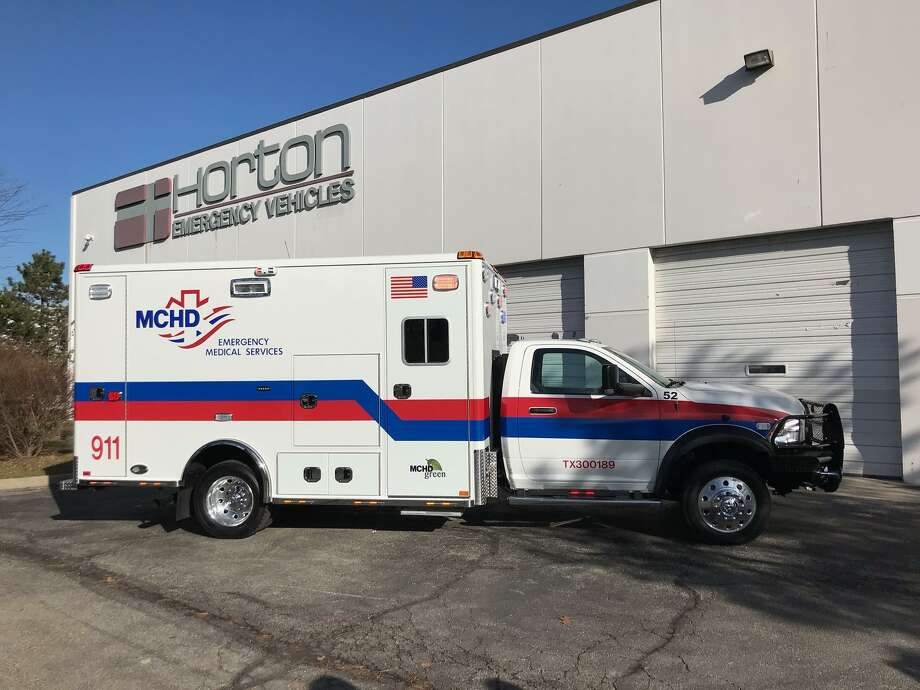 Over the next five years, the Montgomery County Hospital District will almost completely replace its ambulance fleet with 54 built by Ohio-based Horton Ambulances — starting with 14 of the $404,000 vehicles set to arrive this year alone and 10 more in 2020.