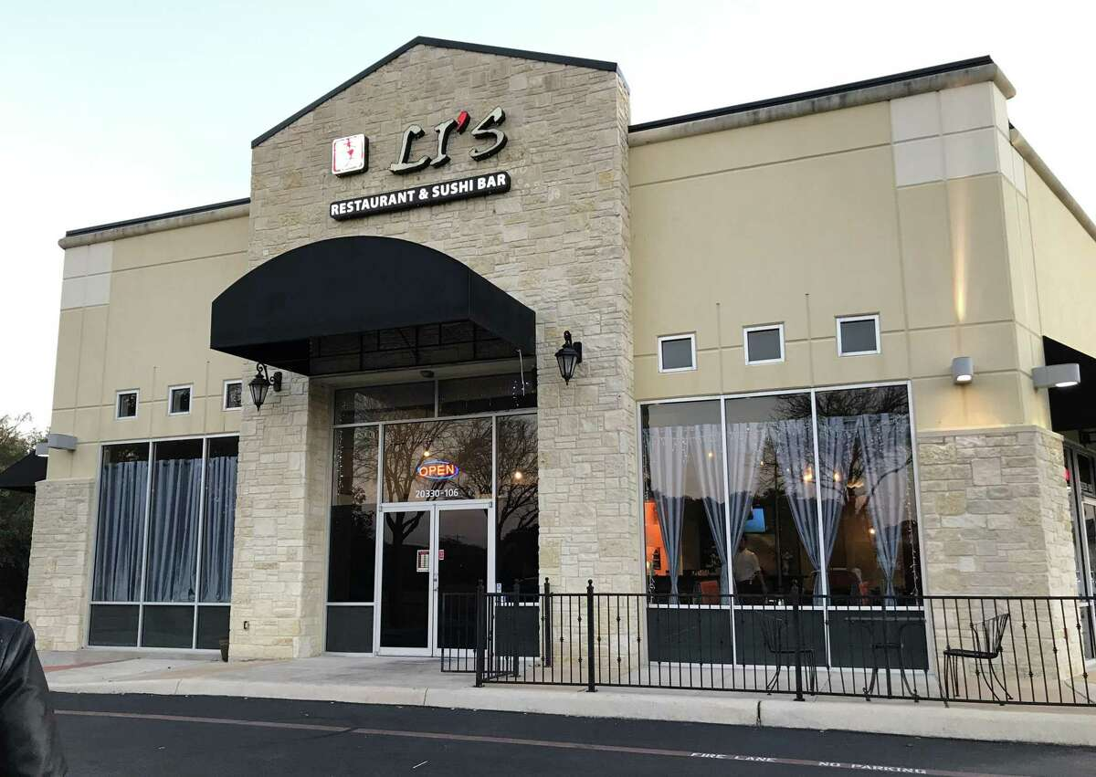 Li's Restaurant is located at 20330 Huebner Road.