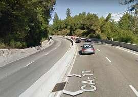 The Laurel Curve, Highway 17, Santa Cruz.