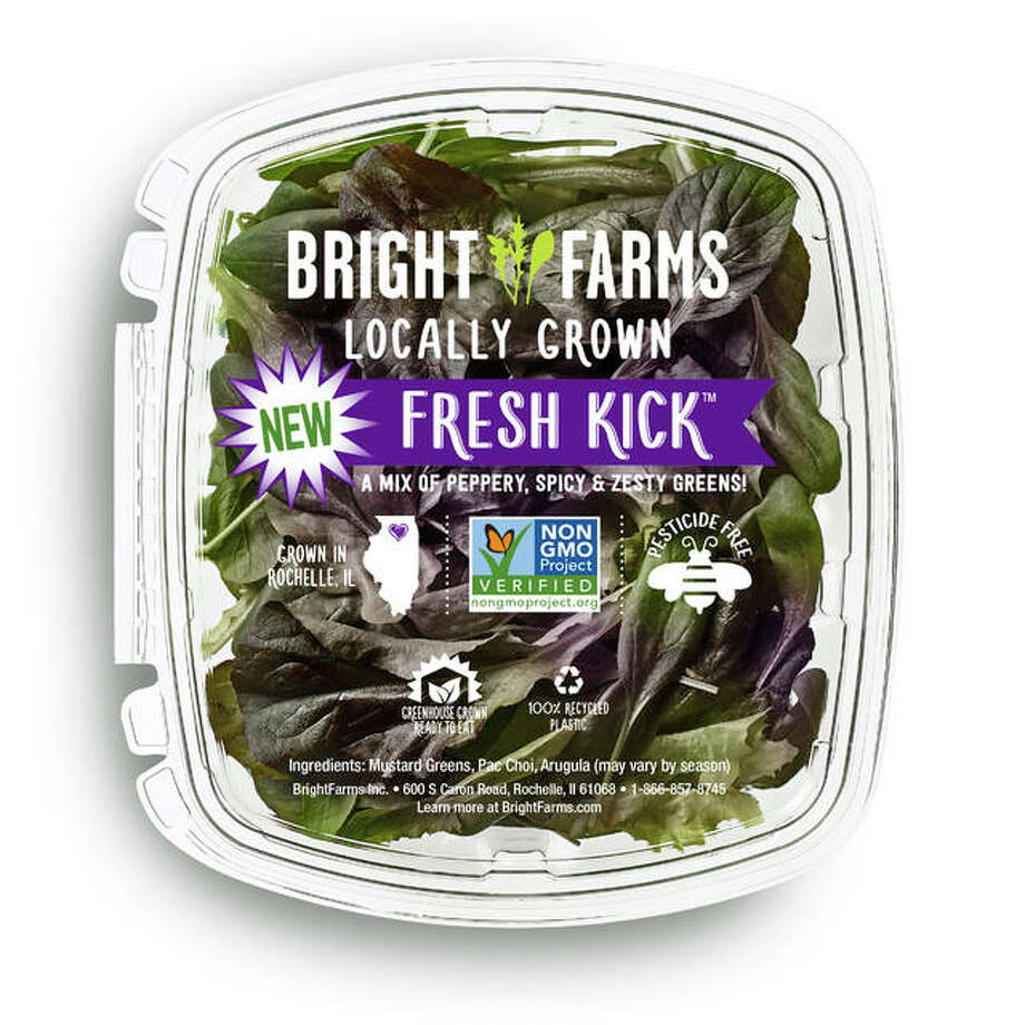 Fresh Kick is one of the seven BrightFarms lettuce and greens varieties available at Edwardsville's Dierberg's. Photo: For The Intelligencer