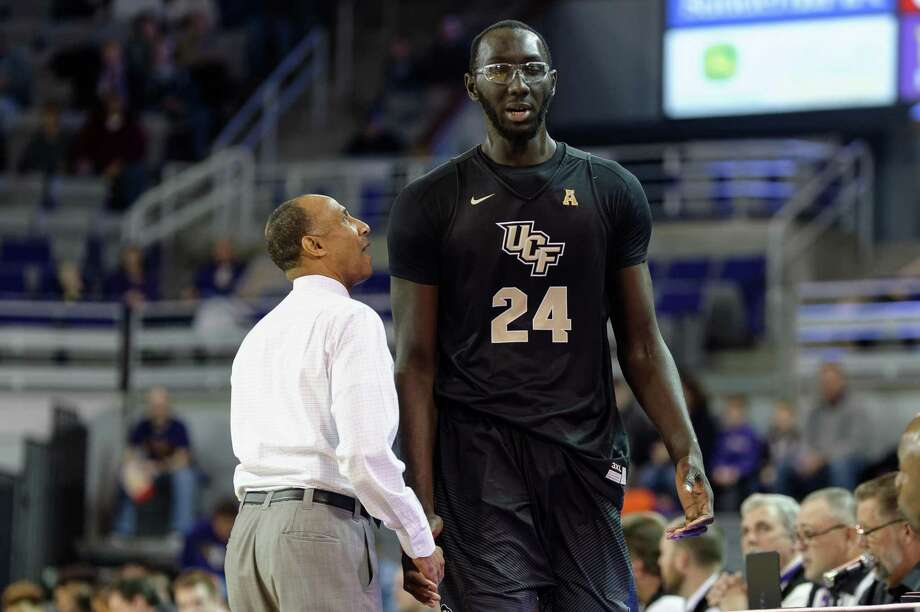 UConn will take on Tacko Fall (24) and UCF on Saturday in Hartford. Photo: Icon Sportswire Via Getty Images / ©Icon Sportswire (A Division of XML Team Solutions) All Rights Reserved