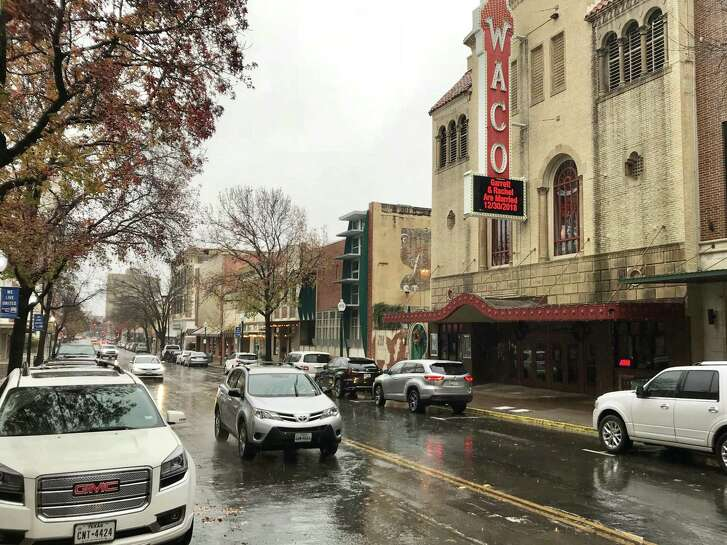 """Thanks in part to """"Fixer Upper,"""" downtown Waco these days actually has traffic, thriving businesses and loft residents."""