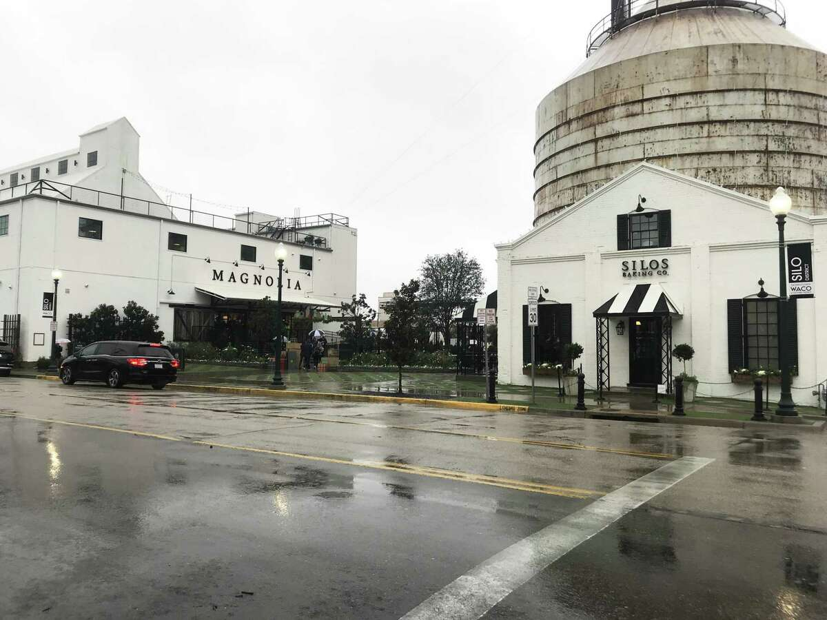 Magnolia, a group of repurposed grain silos in downtown Waco, is drawing visitors from around the world.